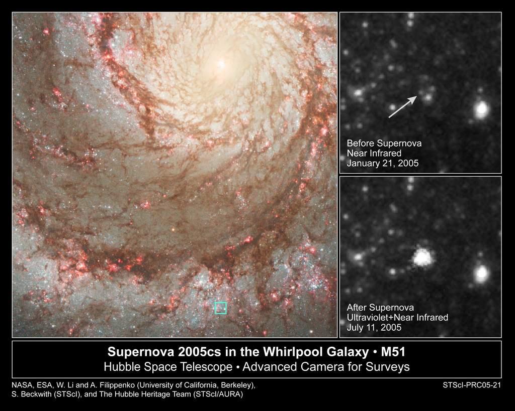 SN2005cs w M51