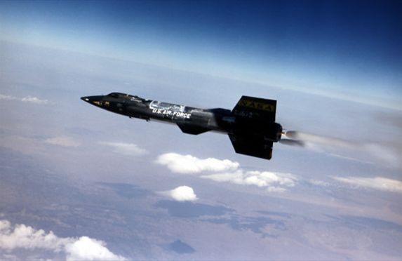 X-15 podczas lotu