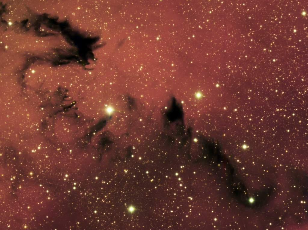 Chiński smok w mgławicy NGC 6559