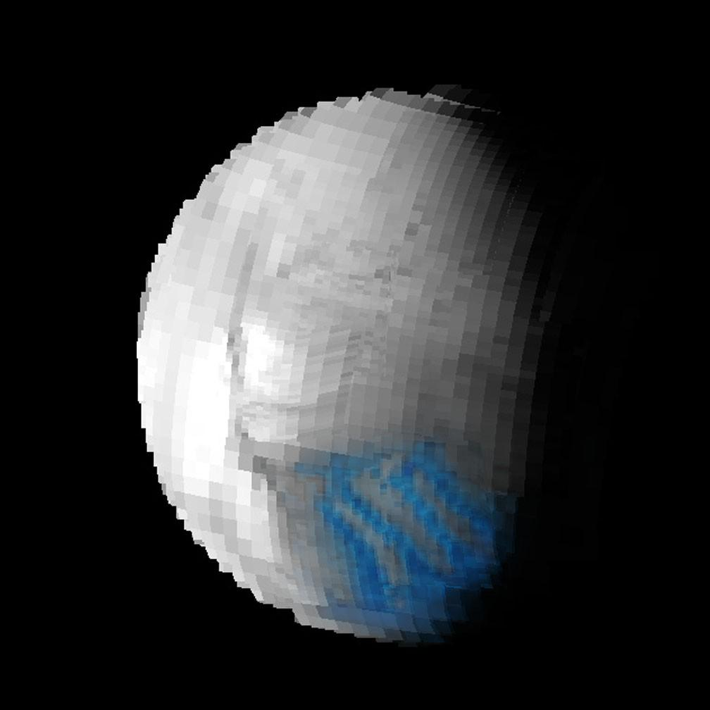 Enceladus - księżyc Saturna