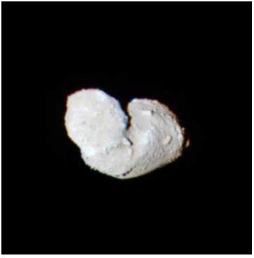 Planetoida Itokawa widziana z odległości 25 km.