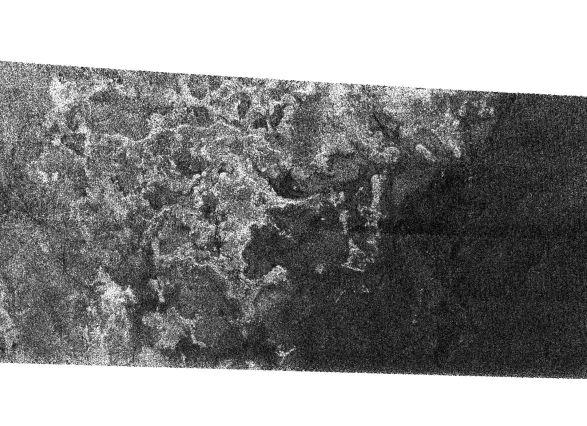 Linia brzegowa na Tytanie