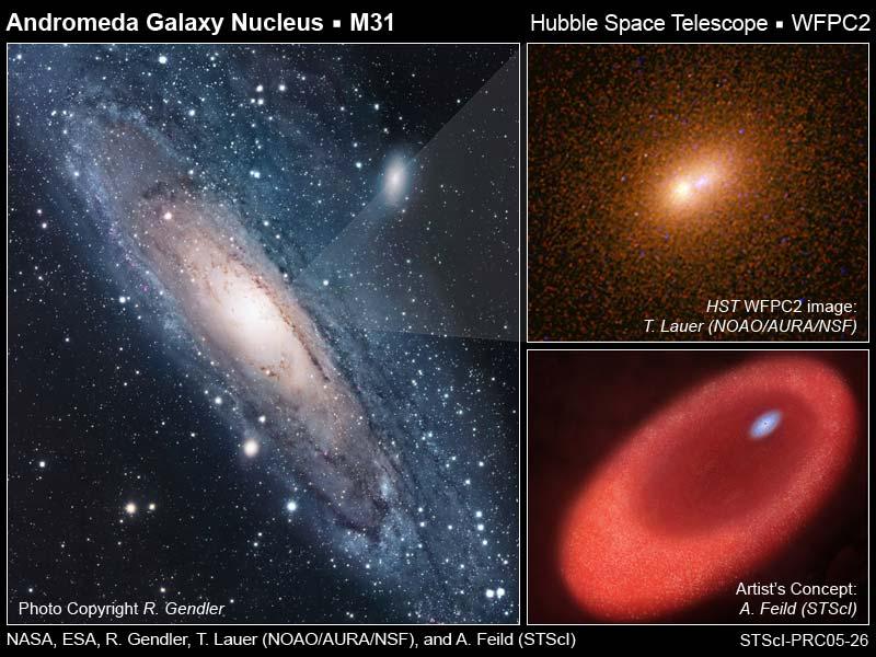 Andromeda - dwa czy jedno?