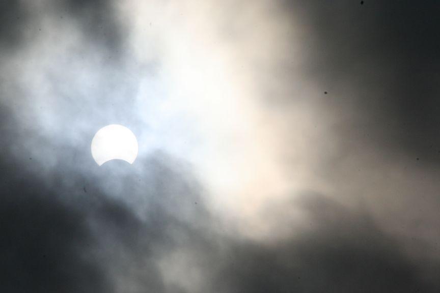 Zaćmienie Słońca 3 października 2005 z Poznania (4)