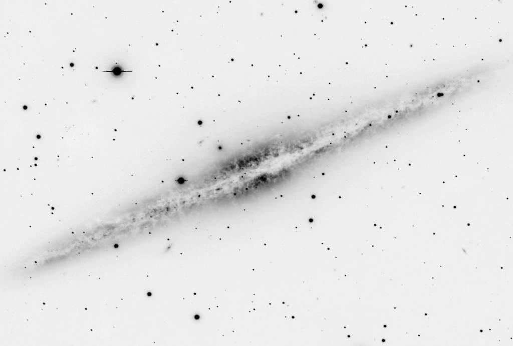 Galaktyka spiralna NGC 891