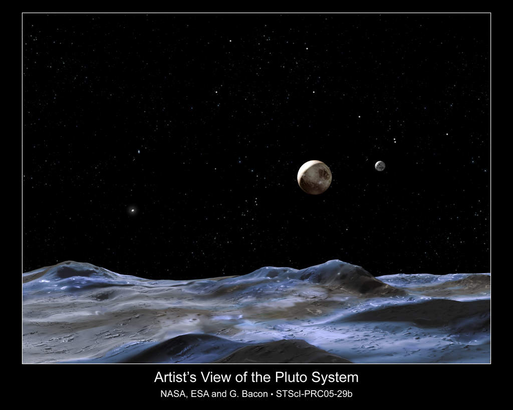 Malarska wizja układu Plutona