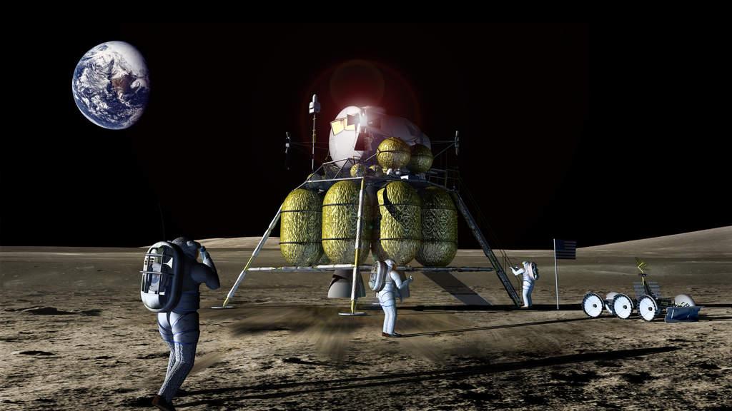 Lądownik naKsiężycu (II)