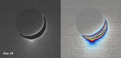 Pierwsze zdjęcie gejzerów Enceladusa