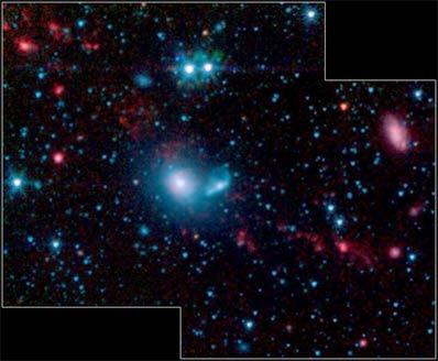 Karłowate galaktyki w NGC 5291