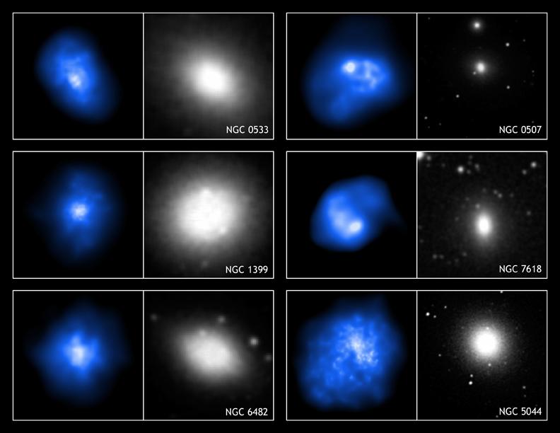 Galeria galaktyk eliptycznych