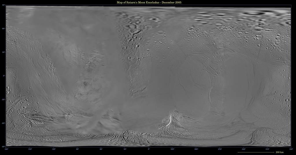Mapa Enceladusa