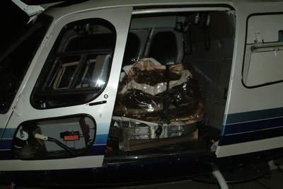 Kapsuła Sturdust whelikopterze