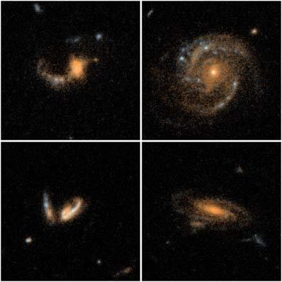 Galaktyki z  Extended Groth Strip