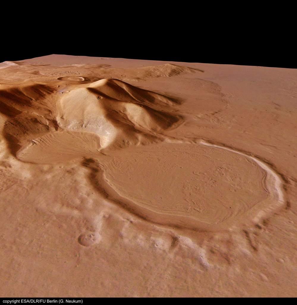 """Klepsydrowe"" kratery"