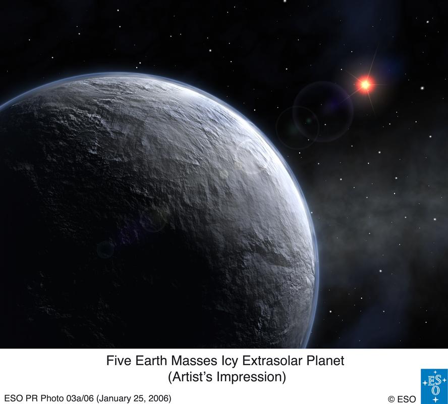 Pozasłoneczna planeta 5 razy większa od Ziemi