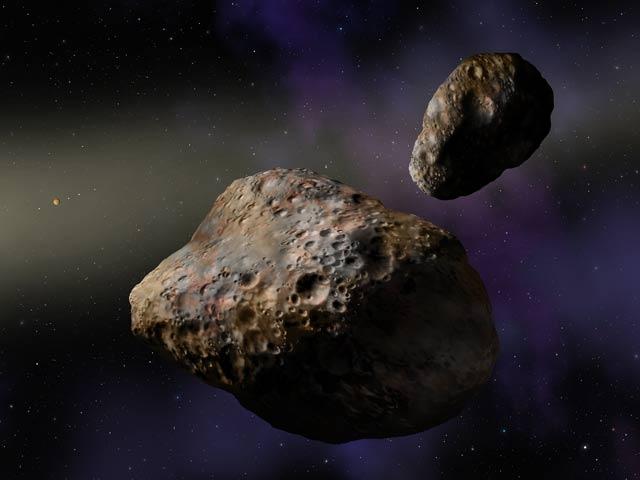 Podwójna planetoida trojańska