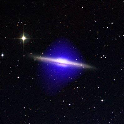Halo wokół NGC 5746
