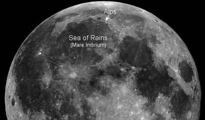 księżycowe Alpy