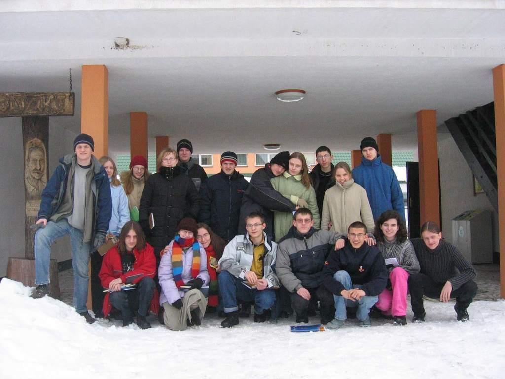 Uczestnicy zimowiska 2006