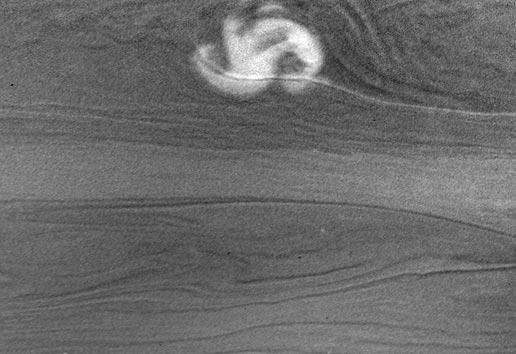 Burza na Saturnie