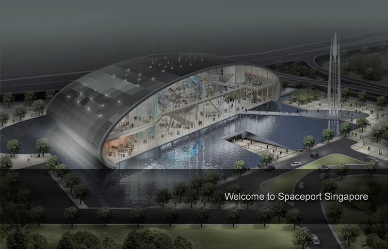 Port Kosmiczny w Singapurze