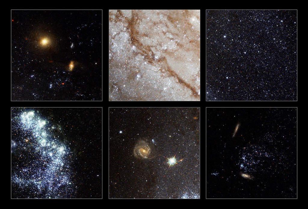 Szczegóły galaktyki Wir (M101)