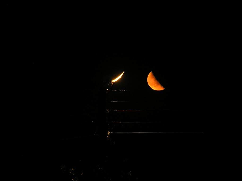 Księżyc 25 IX 2005