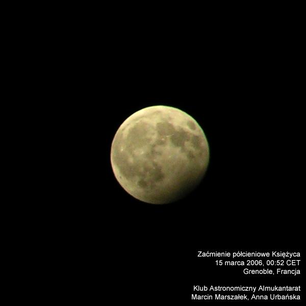 Półcieniowe zaćmienie Księżyca