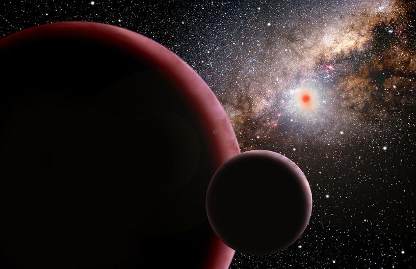 Planeta o 13-krotnej masie Ziemi