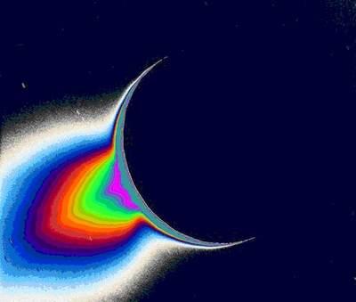 Materia wpobliżu Enceladusa