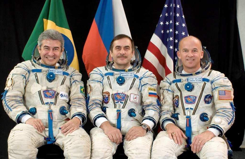 Załoga  Trzynasta ISS i Pontes