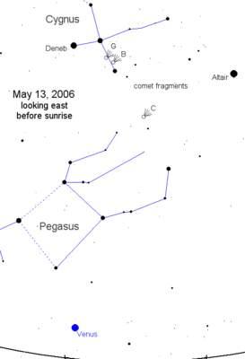 Niebo 13 maja 2006 roku