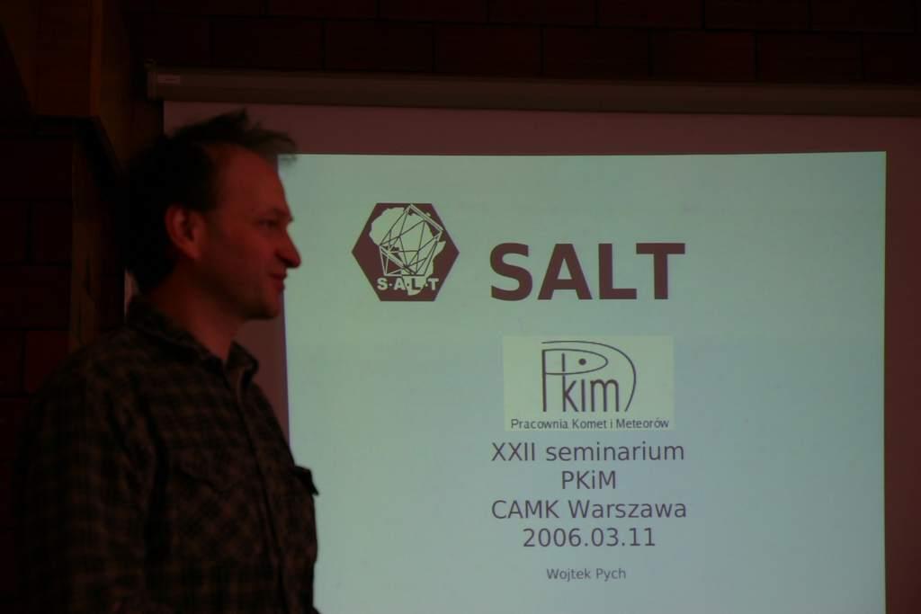 Wojciech Pych opowiada oSALT