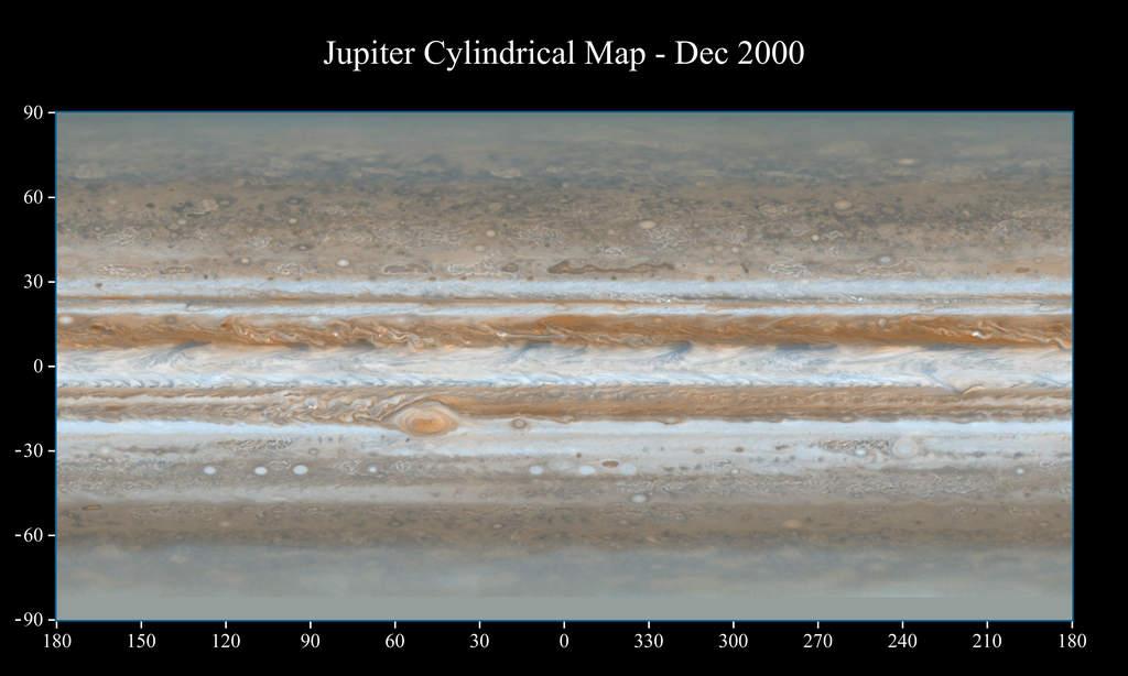 Mapa Jowisza