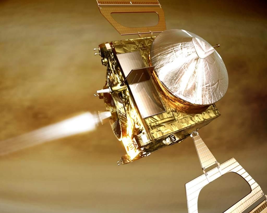 Wejście Venus Express na orbitę