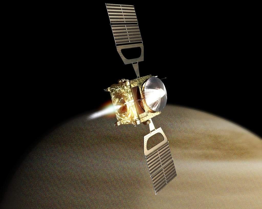 Wizja Wejścia Venus Express na orbitę