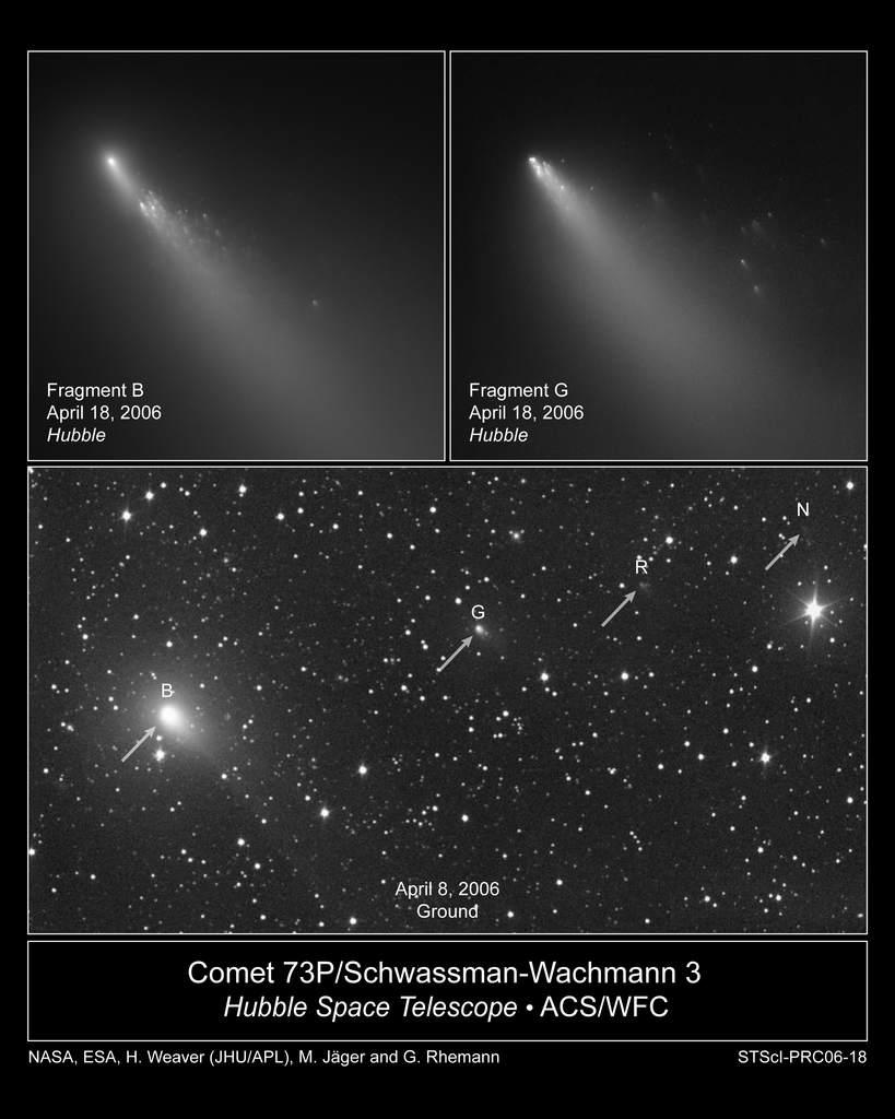 Kometa 73P/Schwassmann-Wachmann 3