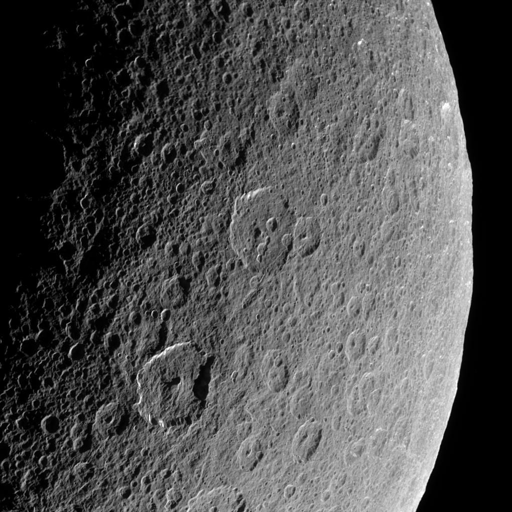 Widok na Reę z Cassiniego