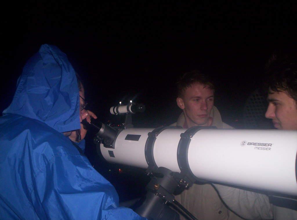 Wieczorne obserwacje nieba podczas AstroFestivalu