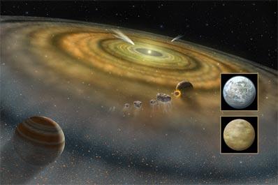 Beta Pictoris i dysk planetarny