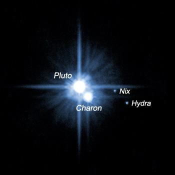 Nyks i Hydra - księżce Plutona