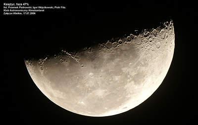 Księżyc w obiektywie Almukantaratu