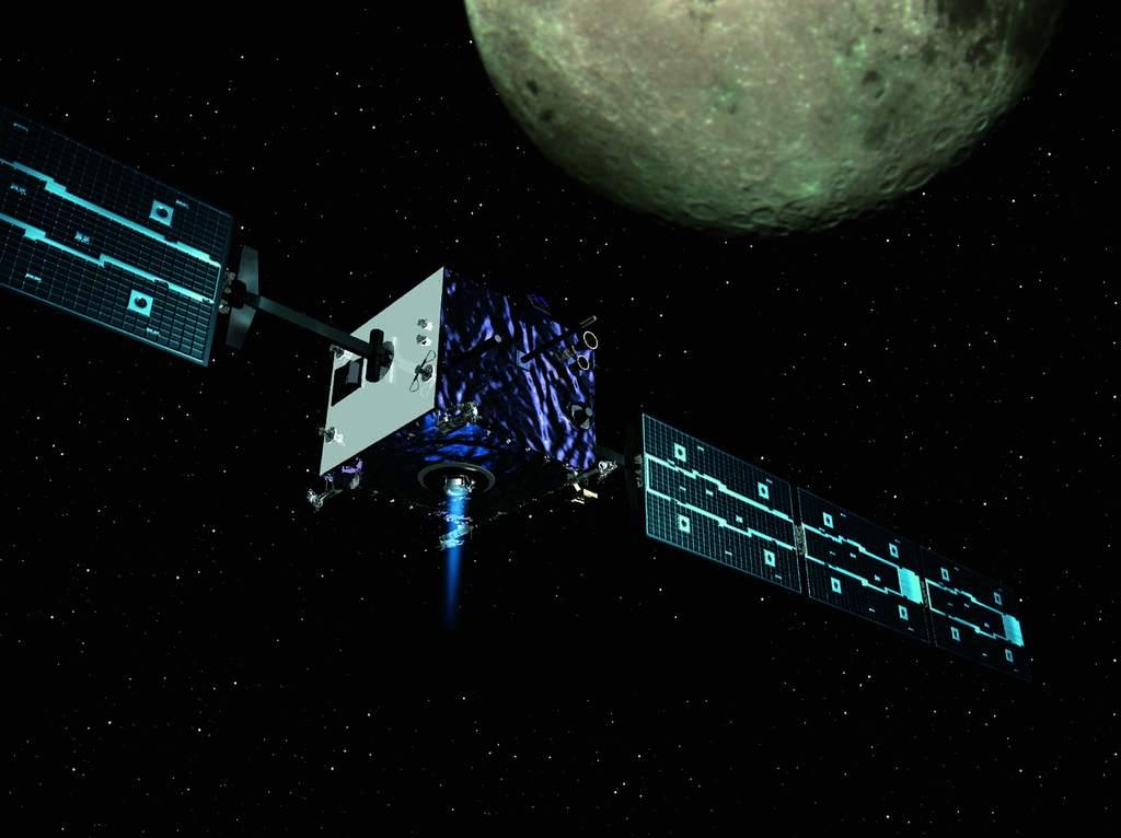 SMART-1 na orbicie Księżyca