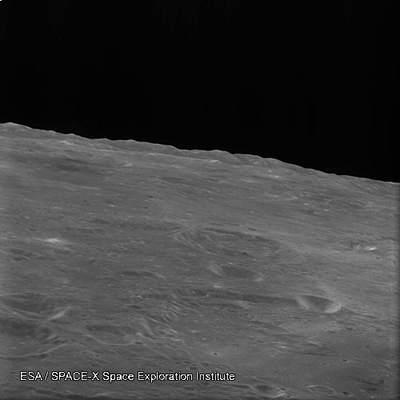 Horyzont księżycowy widziany przezSMART-1