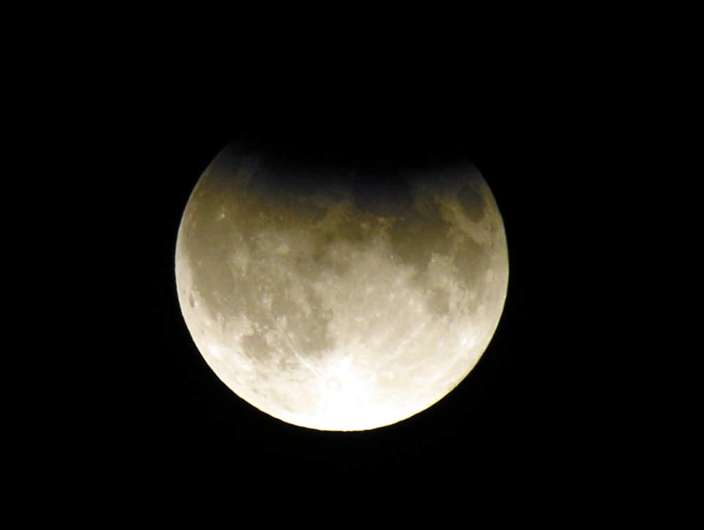 Zaćmienie Księżyca 7 września 2006 w Sandomierzu (I)