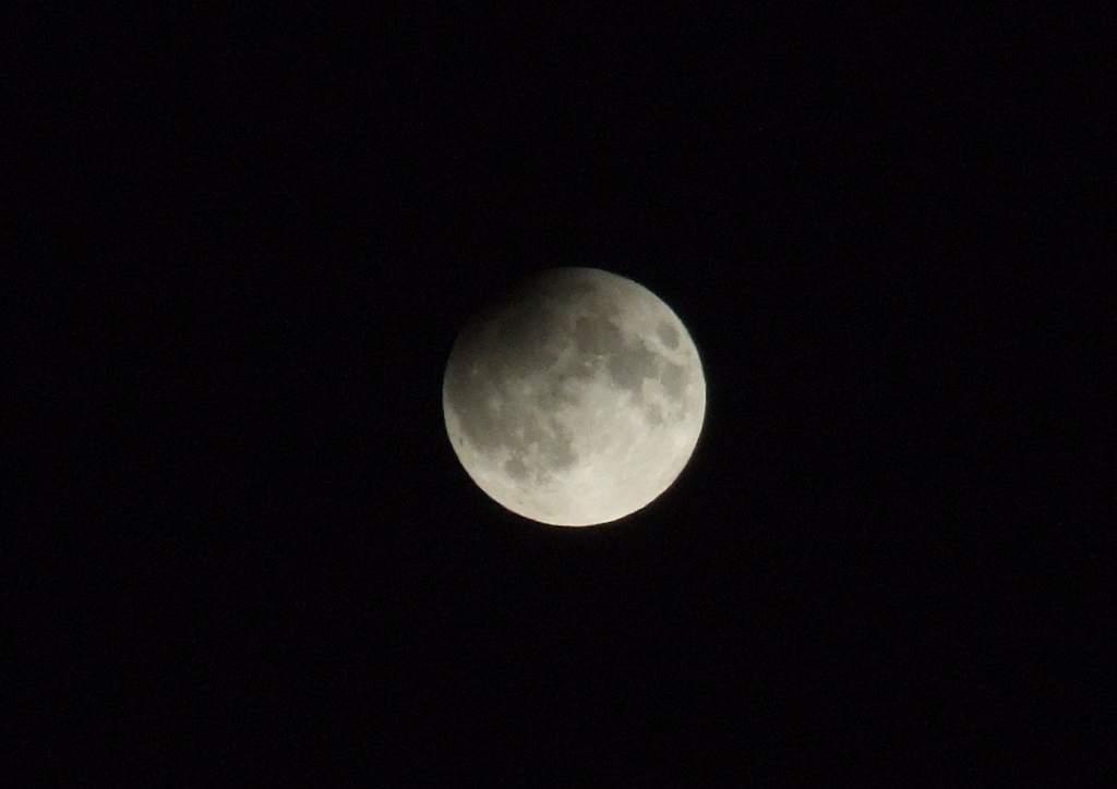 Zaćmienie Księżyca 7.09.2006 z Zawiercia
