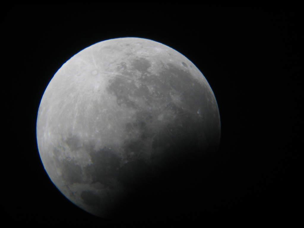 Zaćmienie 7 września 2006, widziane z Komorowa (I)