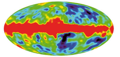 Rozkład promieniowanai tła - pomiary COBE