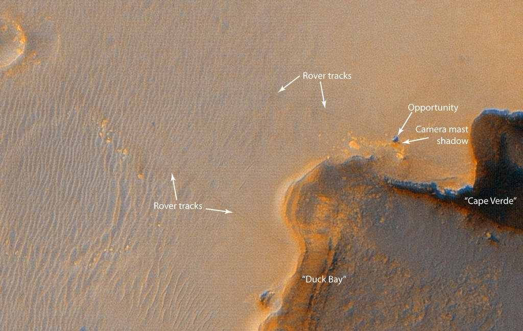 Okolice krateru Victoria z MRO