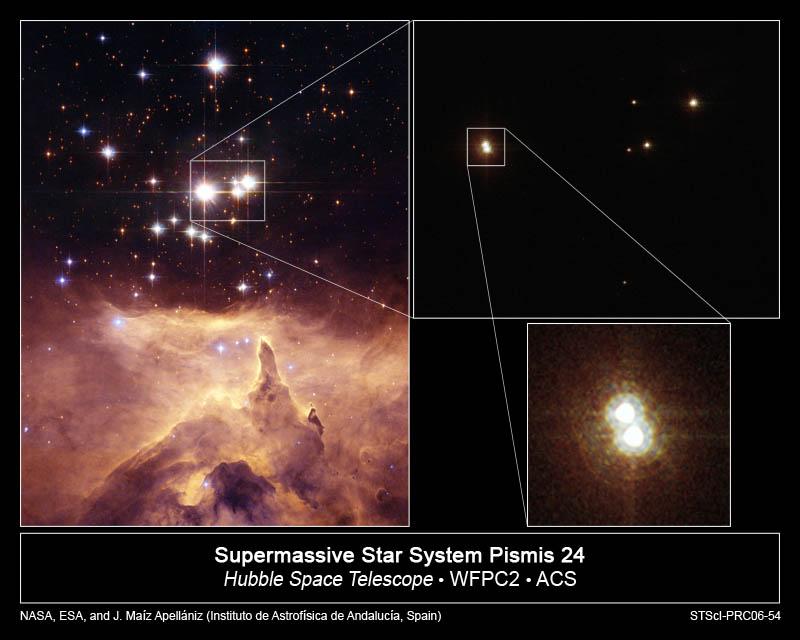 Gromada gwiazd Pismis 24 w mgławicy NGC 6357